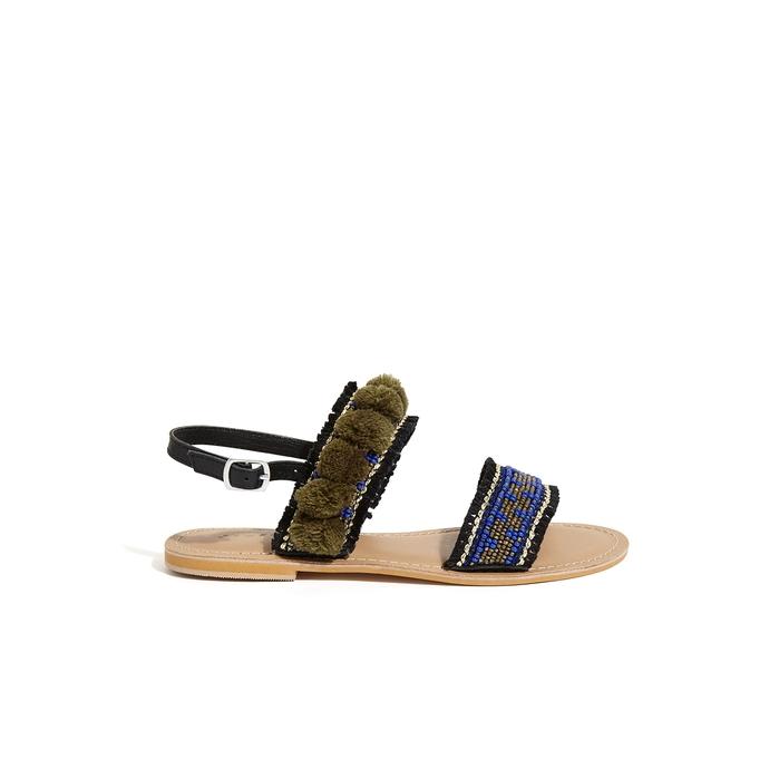 b2a80dfafe41 Jigsaw Minna Embellished Pom Sandal