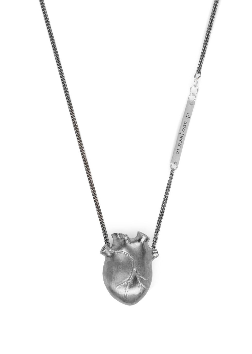 BJ0RG JEWELLERY Large Anatomic Heart Necklace