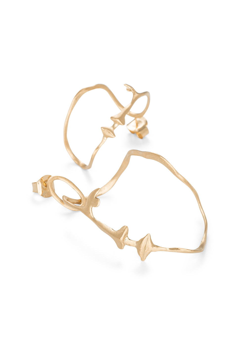 THE DANCER GOLD EARPIECES