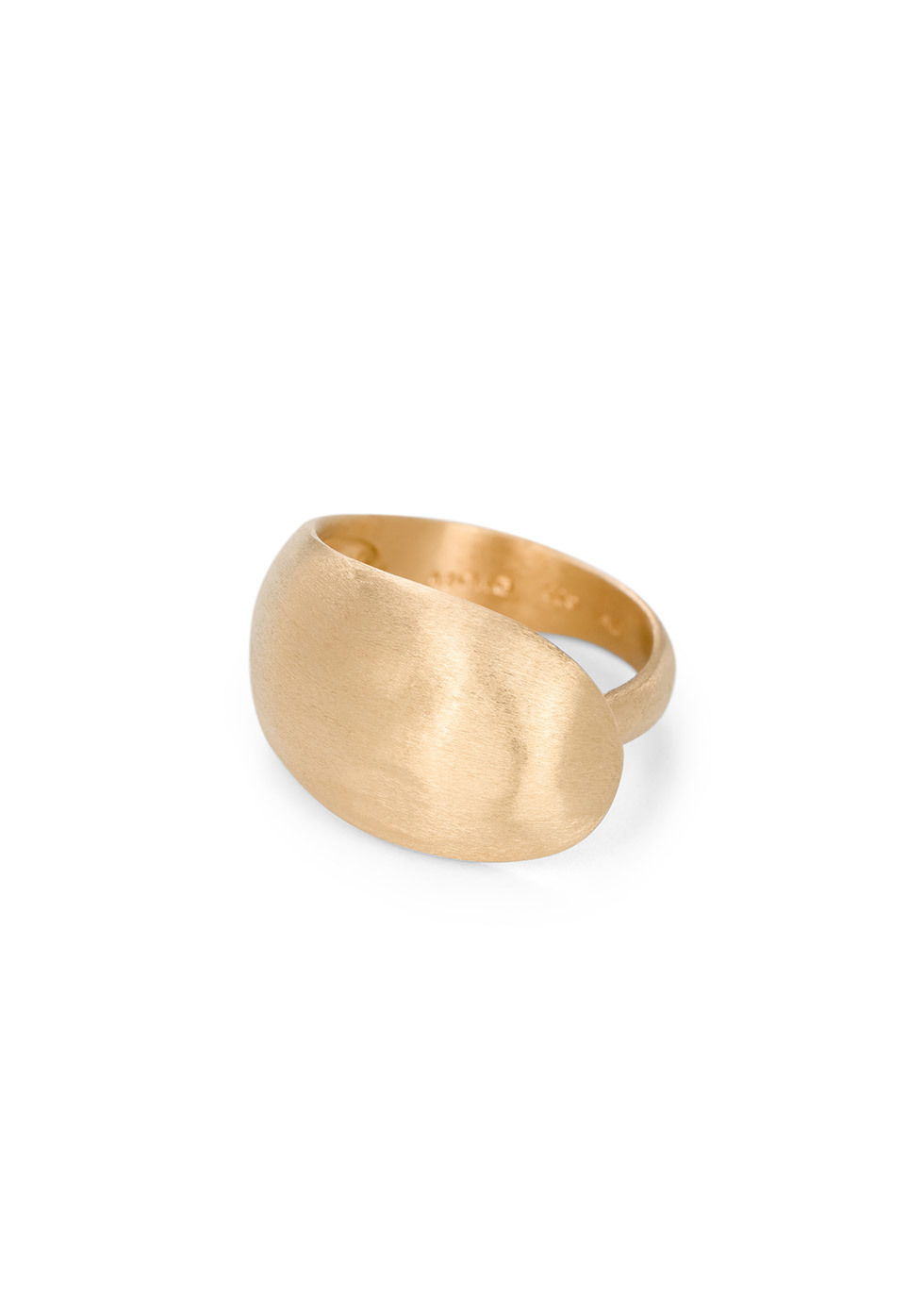 BJ0RG JEWELLERY CLOUDLESS SKY GOLD RING SIZE L