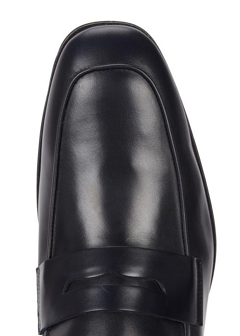 3f638267816 Paul Smith Glynn midnight blue leather loafers - Harvey Nichols