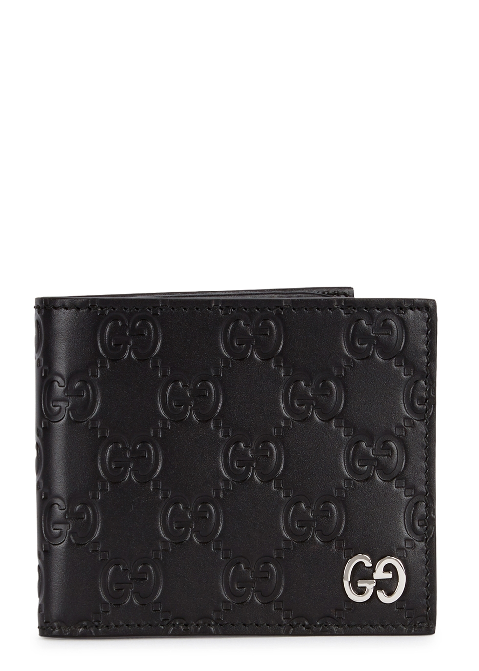 GUCCI GG MONOGRAMMED LEATHER WALLET