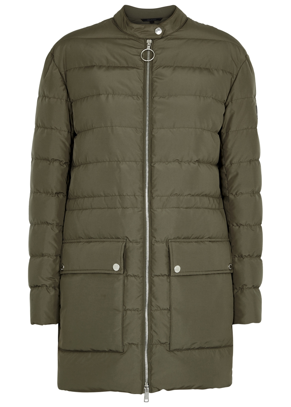 ADWICK SAGE QUILTED SHELL COAT