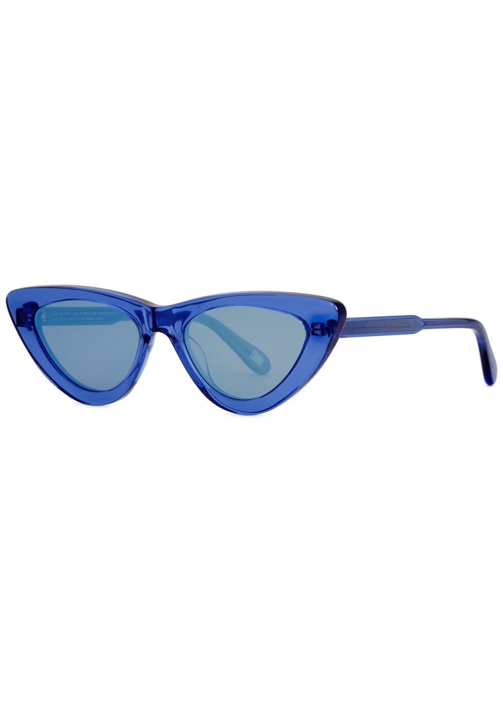 CHIMI 006 BLUE CAT-EYE SUNGLASSES