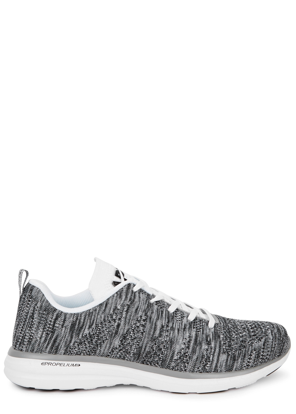 APL ATHLETIC PROPULSION LABS TECHLOOM PRO GREY KNITTED TRAINERS