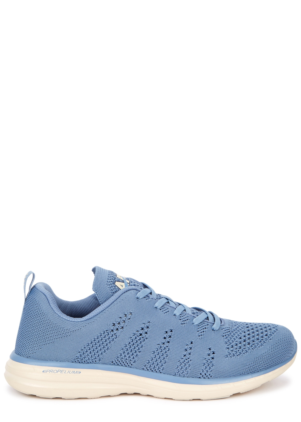 APL ATHLETIC PROPULSION LABS TECHLOOM PRO BLUE KNITTED TRAINERS