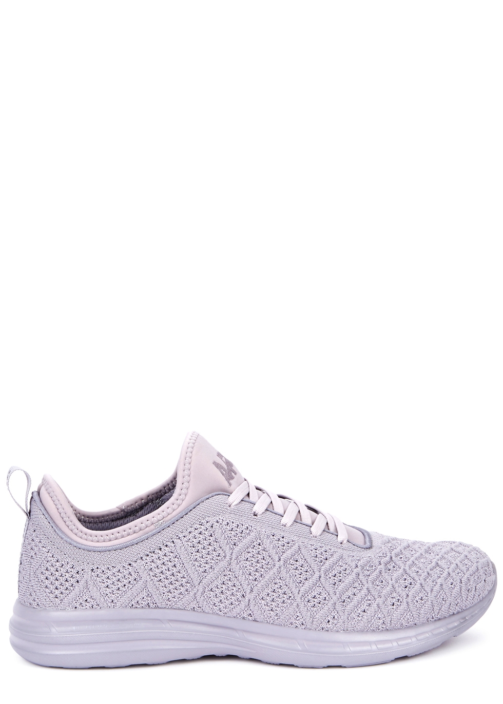 APL ATHLETIC PROPULSION LABS TECHLOOM PHANTOM LILAC KNITTED TRAINERS
