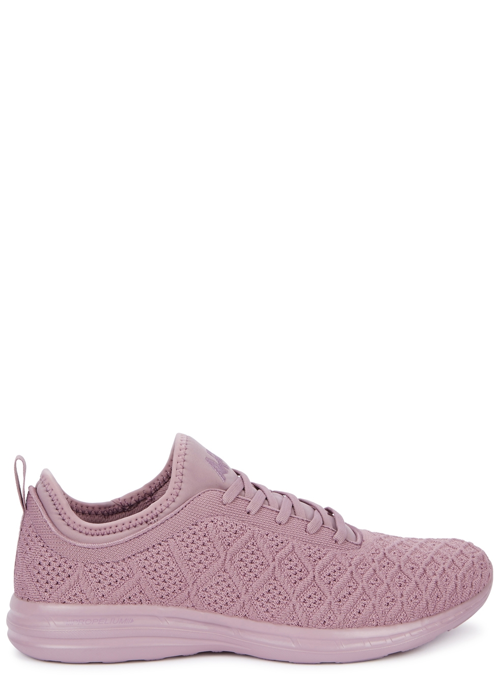 APL ATHLETIC PROPULSION LABS TECHLOOM PHANTOM MAUVE KNITTED TRAINERS