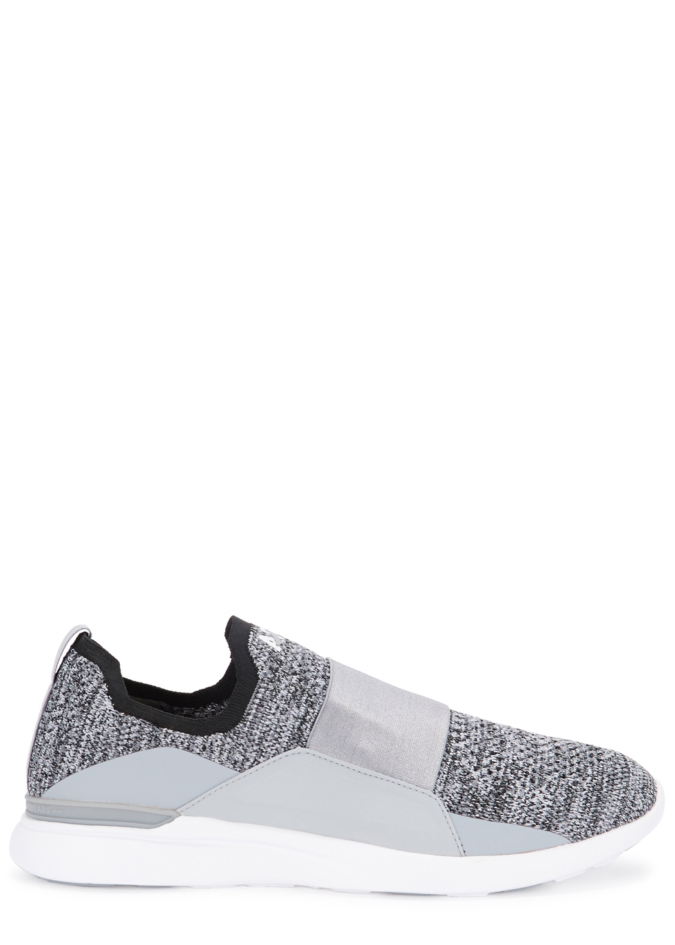 APL ATHLETIC PROPULSION LABS TECHLOOM BLISS GREY KNITTED TRAINERS