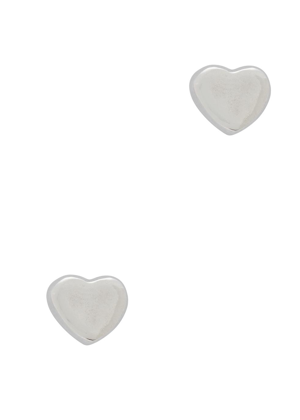 MUSE STUDIO Sterling Silver Heart Earrings