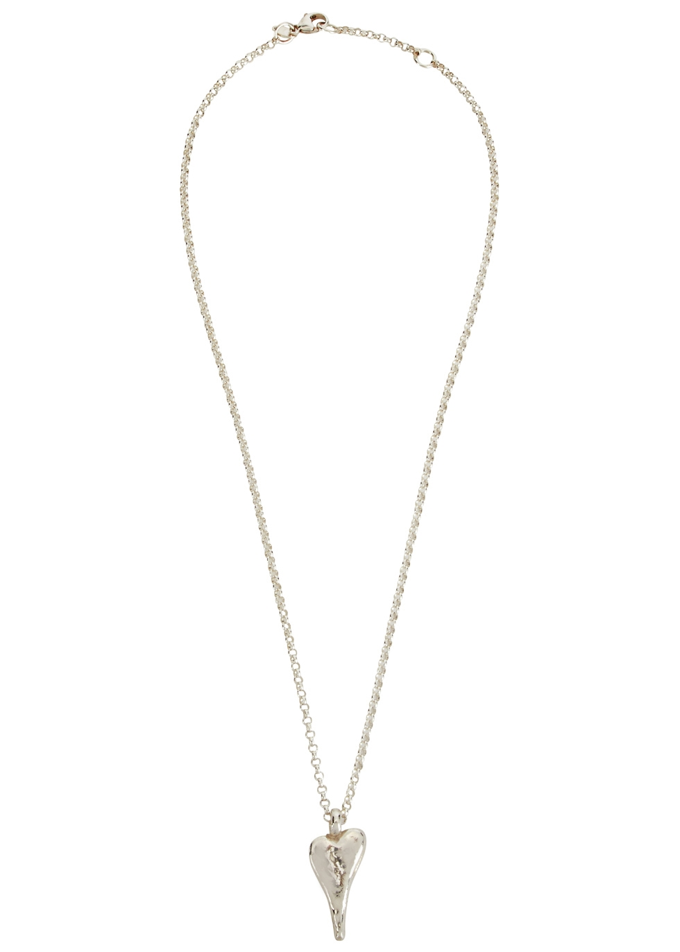 MUSE STUDIO Natalie Sterling Silver Heart Necklace