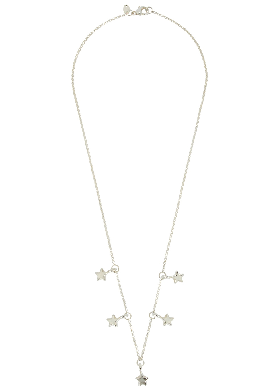 MUSE STUDIO 5 STAR STERLING SILVER NECKLACE