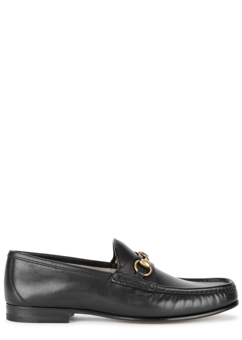 a7ca4698897 Gucci 1953 black horsebit leather loafers - Harvey Nichols