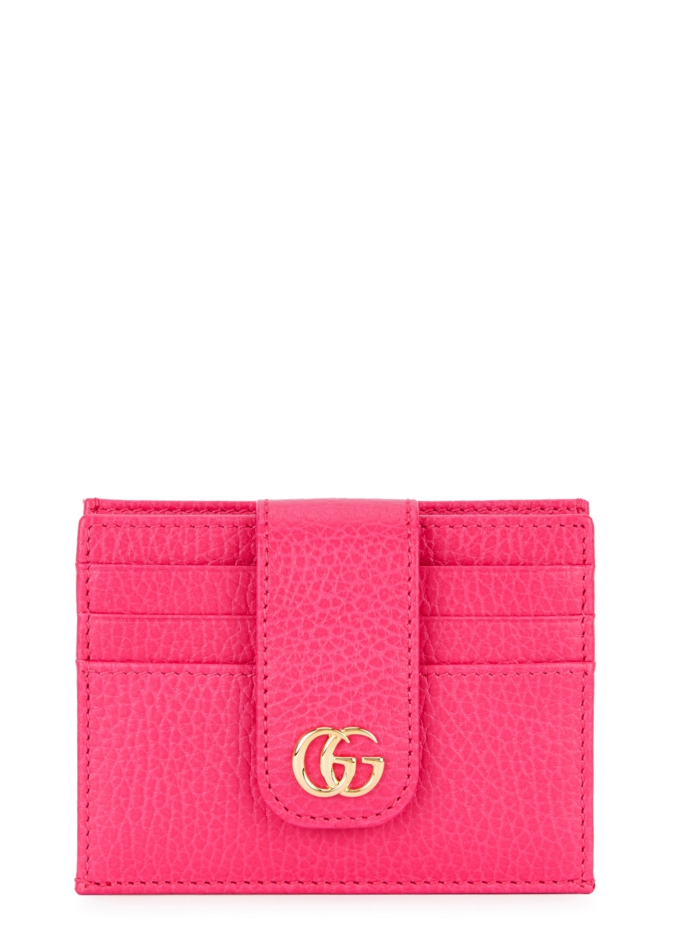GG MARMONT MINI LEATHER CARDHOLDER