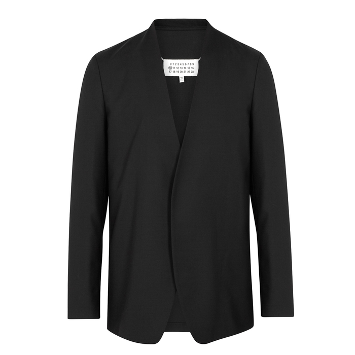 Maison Margiela Black Wool Blazer