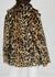 Kate leopard-print faux fur coat - Free People