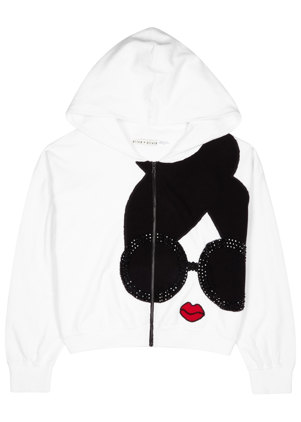 KYLE STACE FACE KNITTED SWEATSHIRT