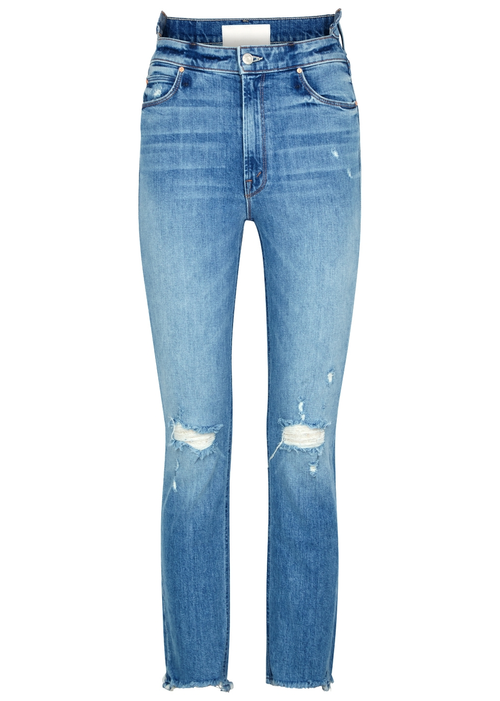 THE DAZZLER DISTRESSED SKINNY JEANS
