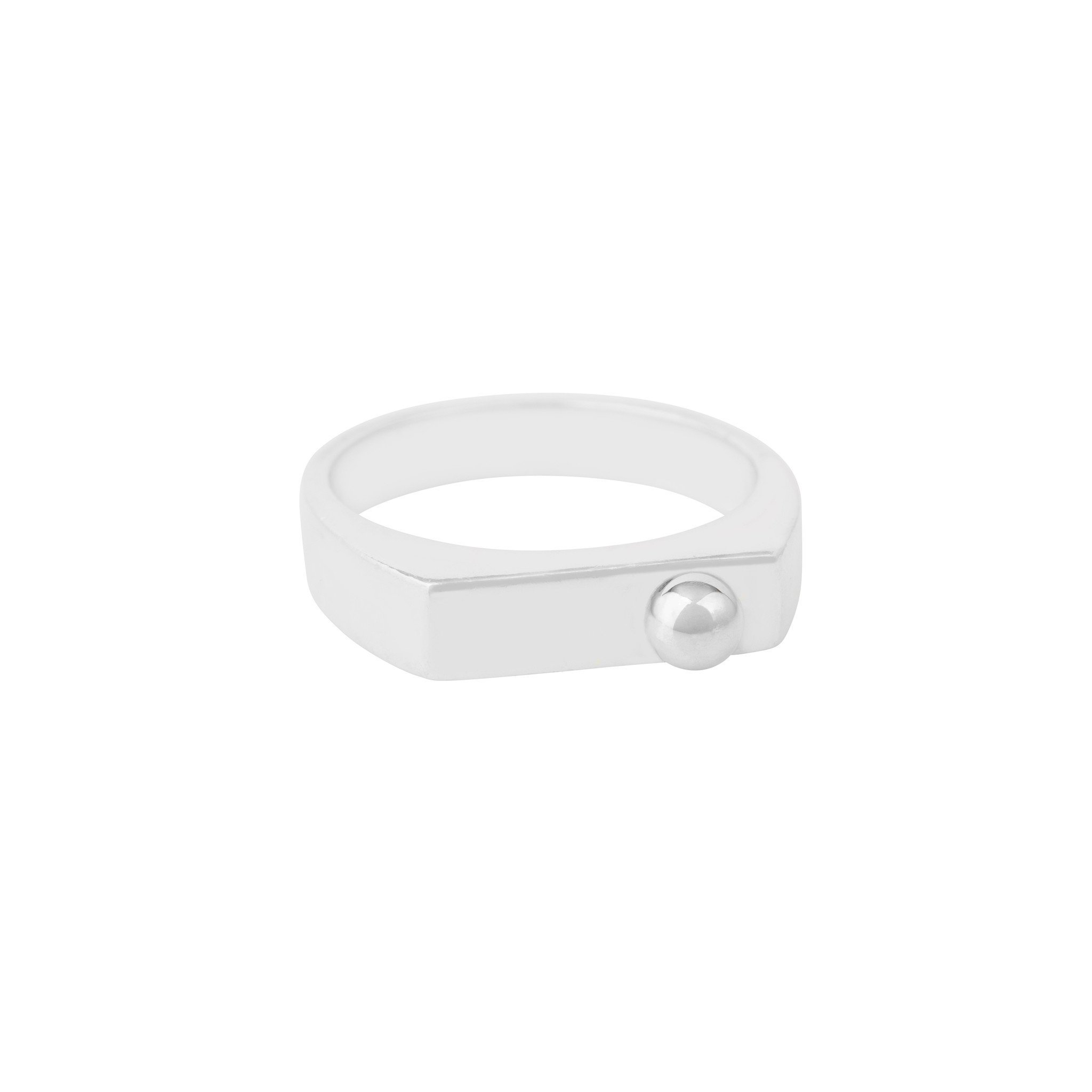 STERLING SILVER MEDIUM BEAD CAJ RING