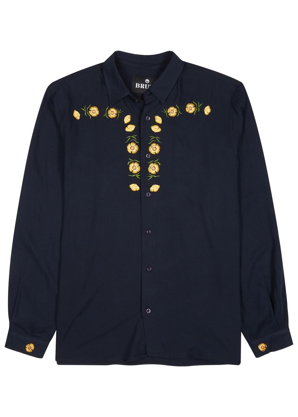 BRUTA Chivalry Navy Jersey Shirt