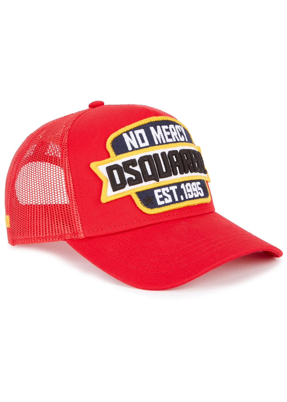 DSQUARED2 NO MERY EMBROIDERED TWILL CAP