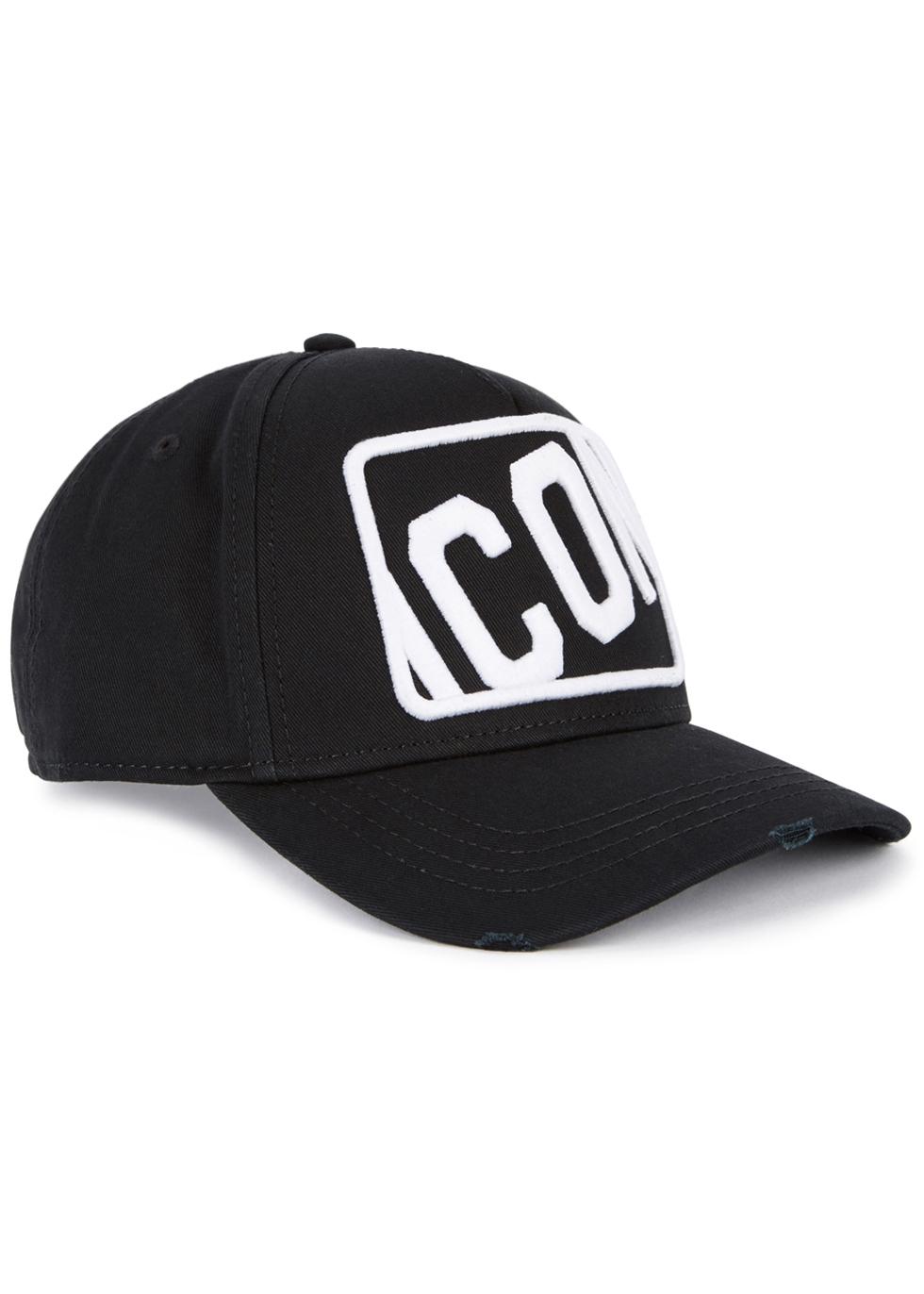 DSQUARED2 ICON EMBROIDERED TWILL CAP