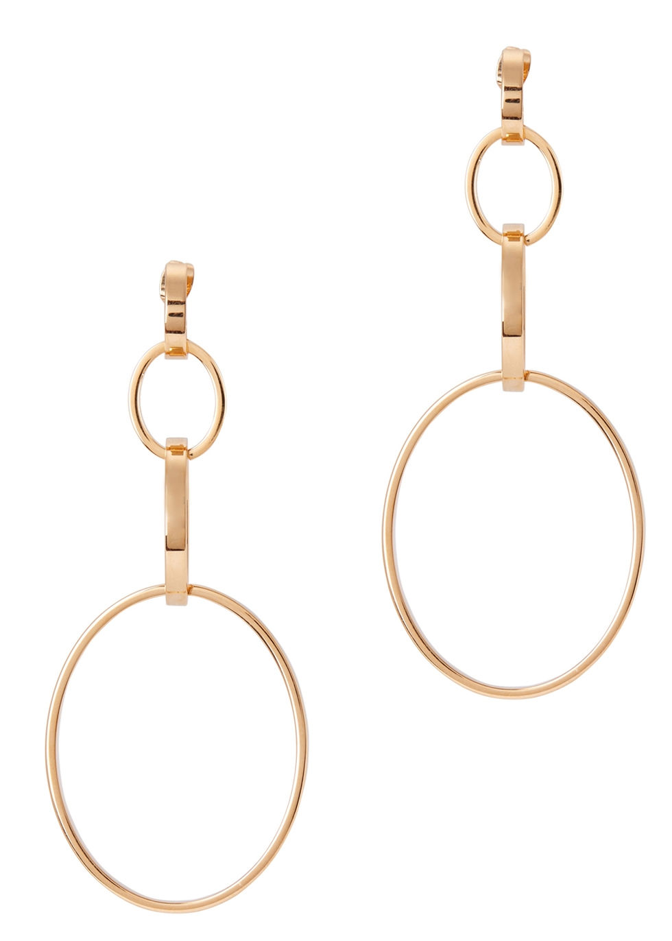 VITA FEDE CASSIO ROSE GOLD-PLATED EARRINGS