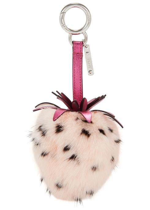 aa69a1bc22 Fendi Fendi Fruits strawberry bag charm - Harvey Nichols
