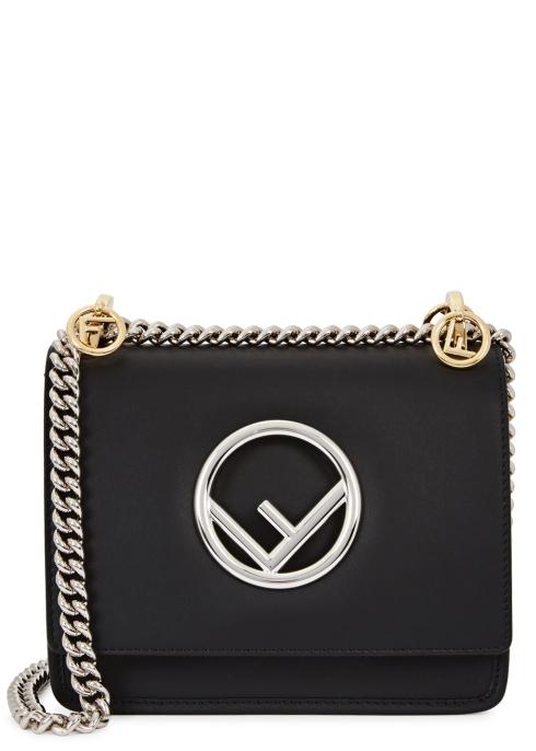 f5fc57c2468d Fendi Kan I F small leather shoulder bag - Harvey Nichols