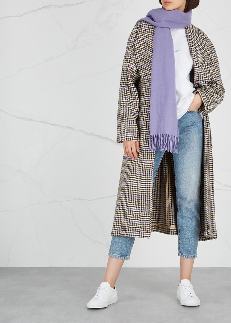 Canada lilac wool scarf - Acne Studios