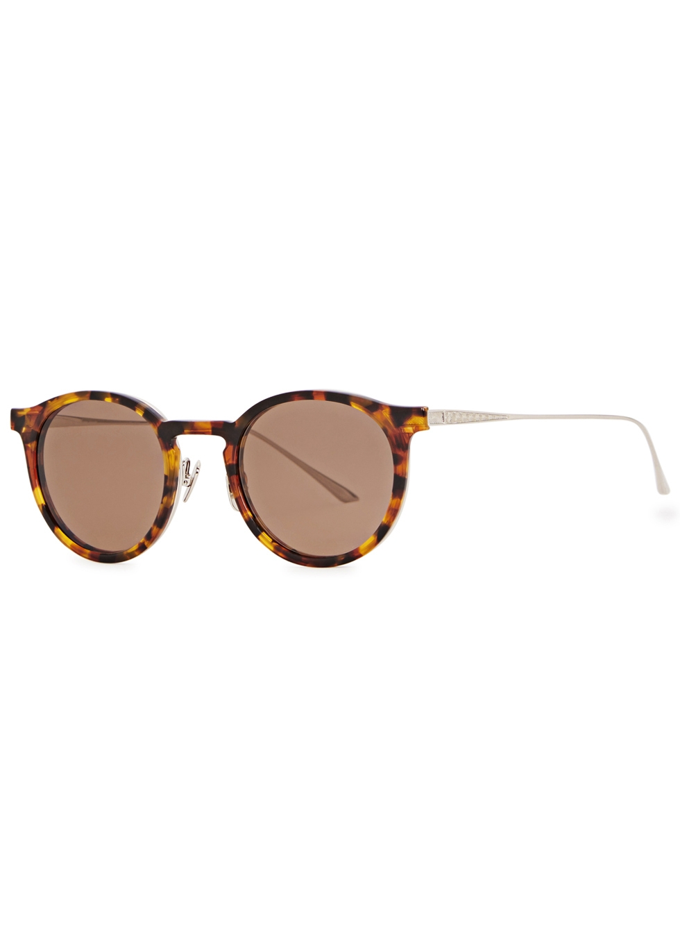 LEISURE SOCIETY | LEISURE SOCIETY Otto 12ct Silver-plated Sunglasses | Goxip