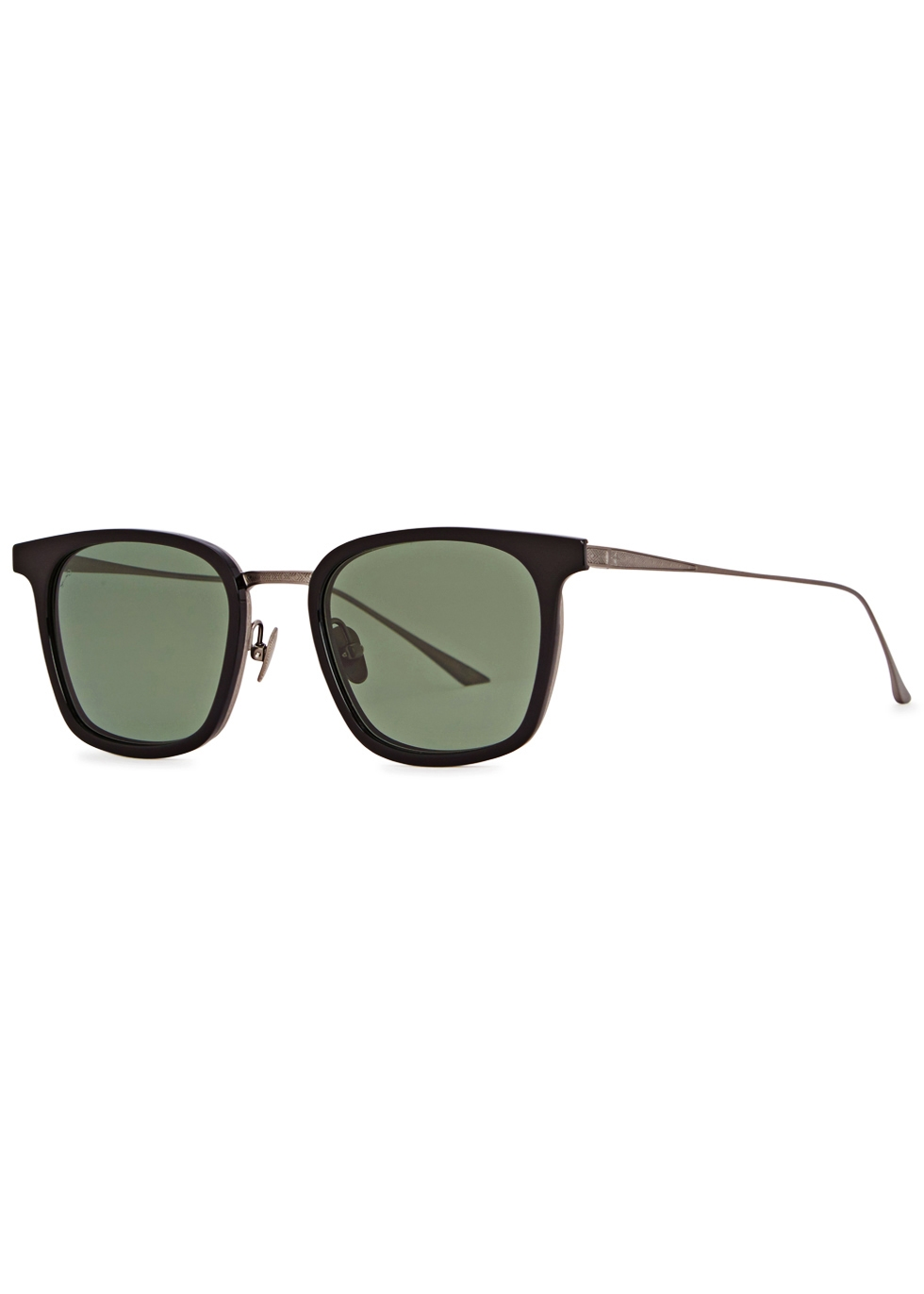 LEISURE SOCIETY EUCLID 12CT ANTIQUE GOLD-PLATED SUNGLASSES