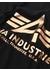 Logo t black gold t-shirt - Alpha Industries