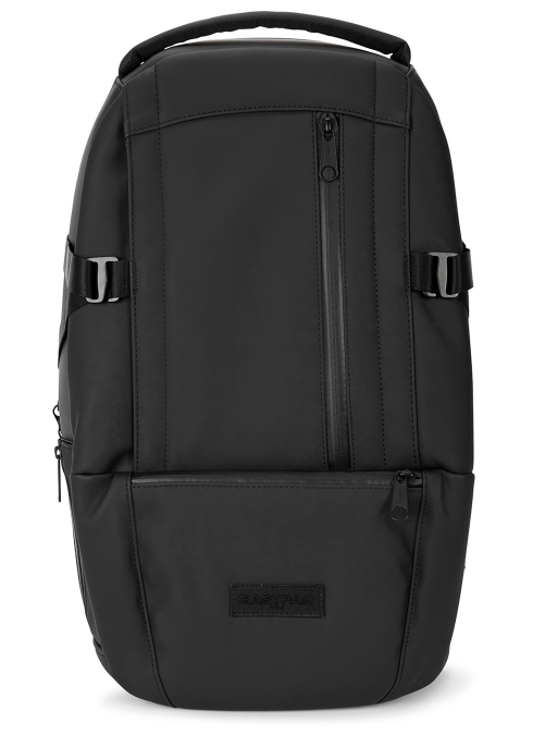04e8f018bc4b Eastpak Floid Steelth black faux leather backpack - Harvey Nichols