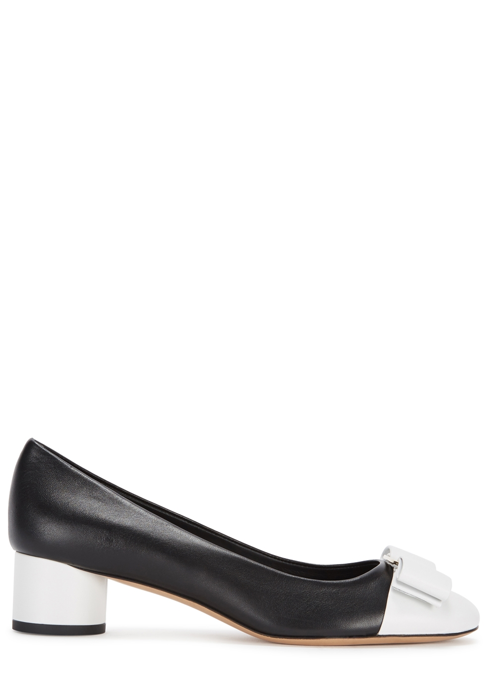IVREA MONOCHROME LEATHER PUMPS