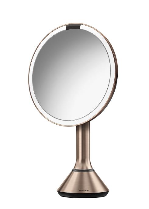 20cm Sensor Mirror Rose Gold Simplehuman