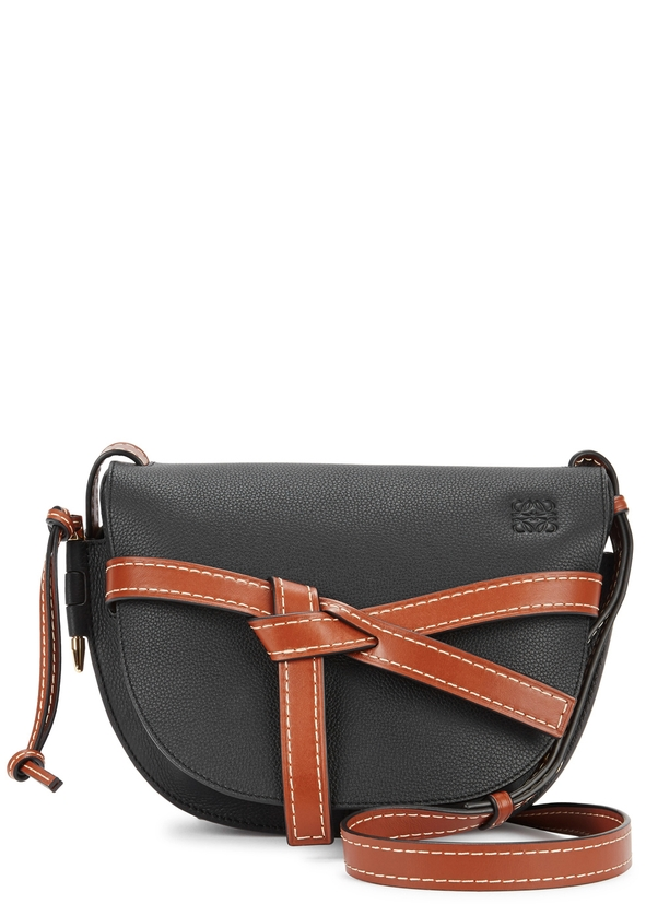 5697c1d6d470 Gate small leather saddle bag ...