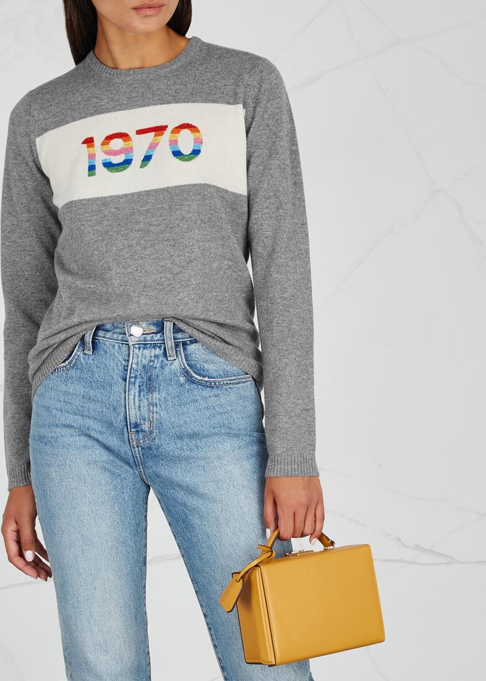 Bella Freud 1970 cashmere blend jumper Harvey Nichols