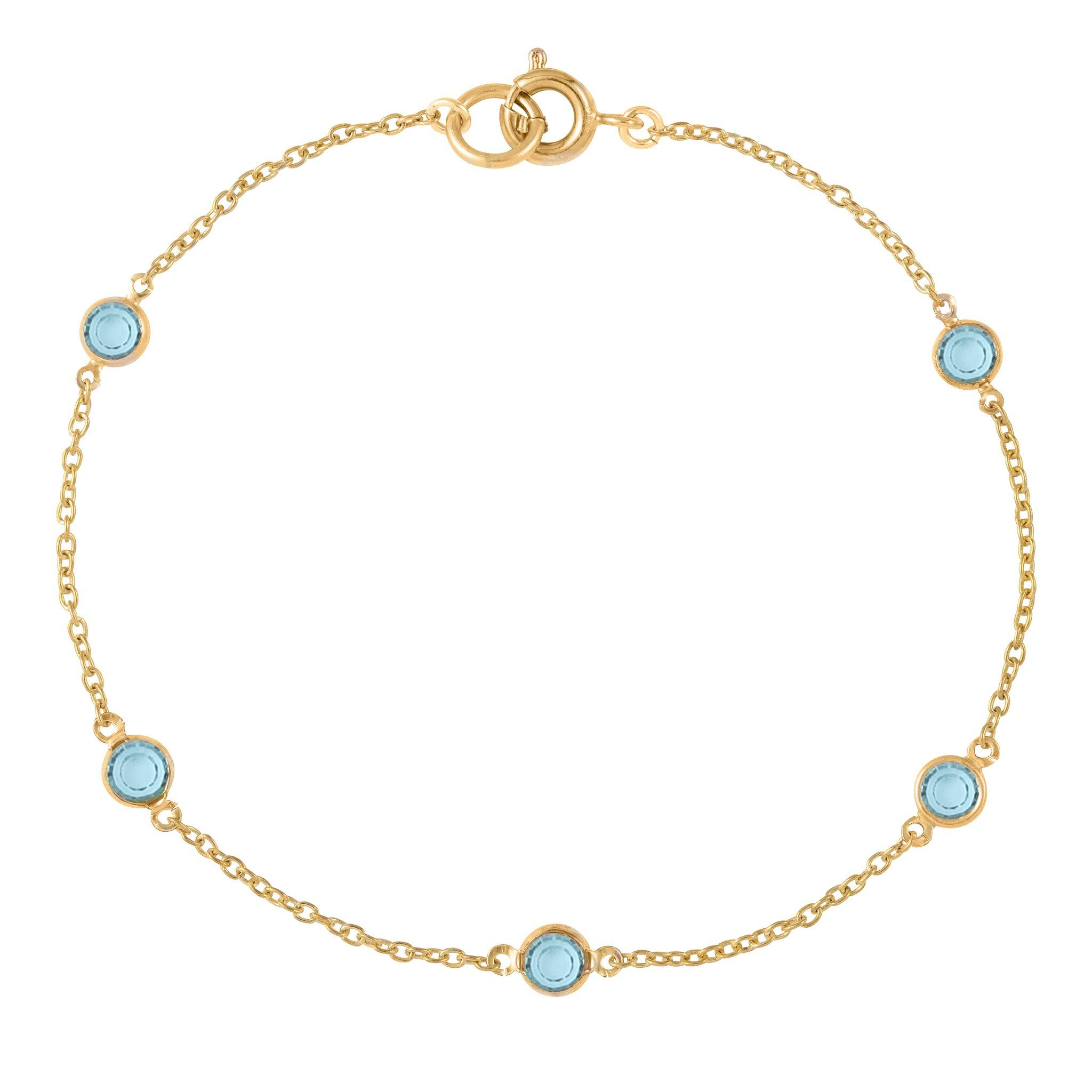 SUSAN CAPLAN CONTEMPORARY 18CT GOLD PLATED SWAROVSKI CRYSTAL BRACELET