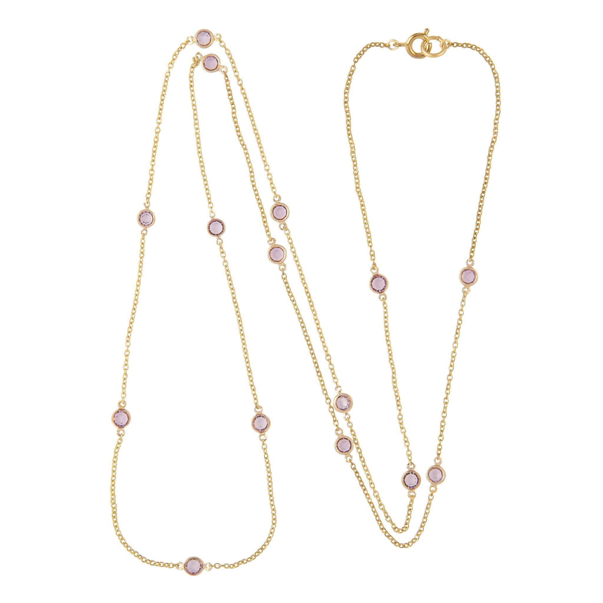 SUSAN CAPLAN CONTEMPORARY 18Ct Gold Plated Swarovski Crystal Necklace