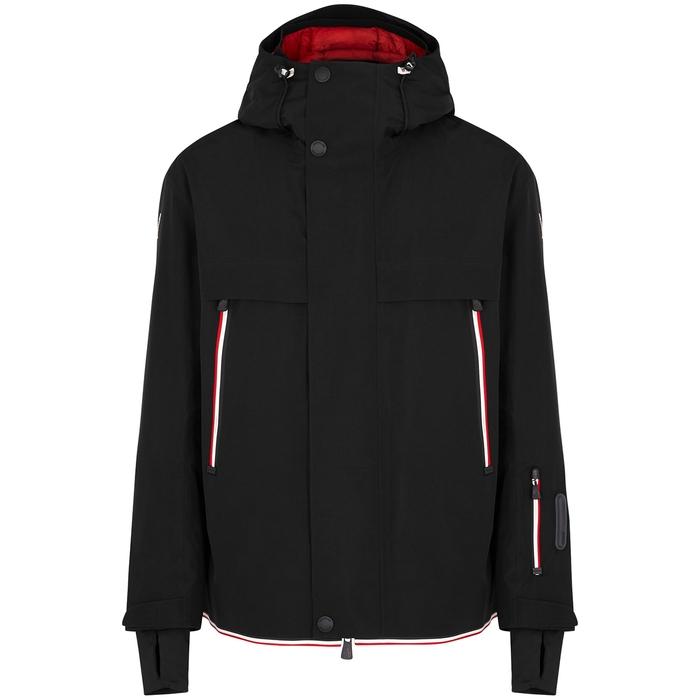 Moncler Miller Black Hooded Goretex Jacket