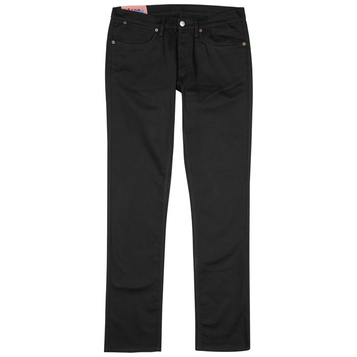 Acne Studios Max Black Skinny Jeans