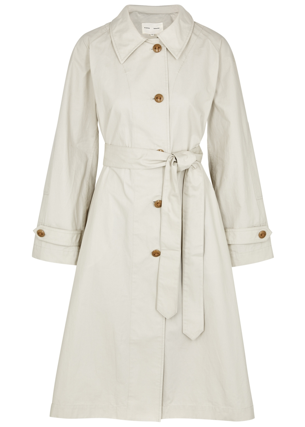 STONE COTTON TRENCH