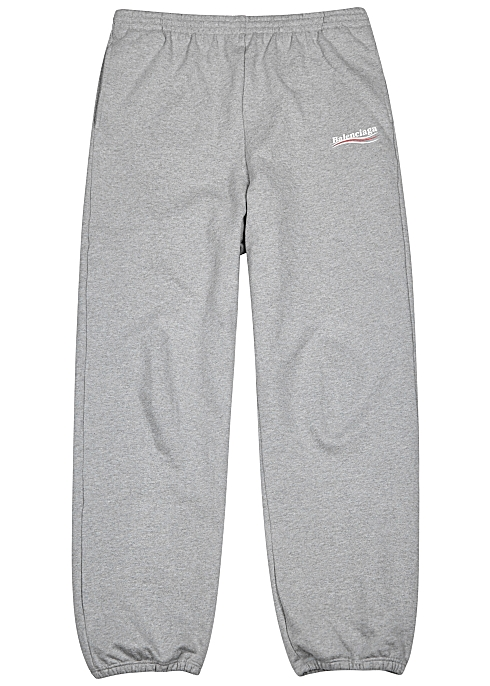 689450f0c9 Balenciaga Grey mélange cotton sweatpants - Harvey Nichols