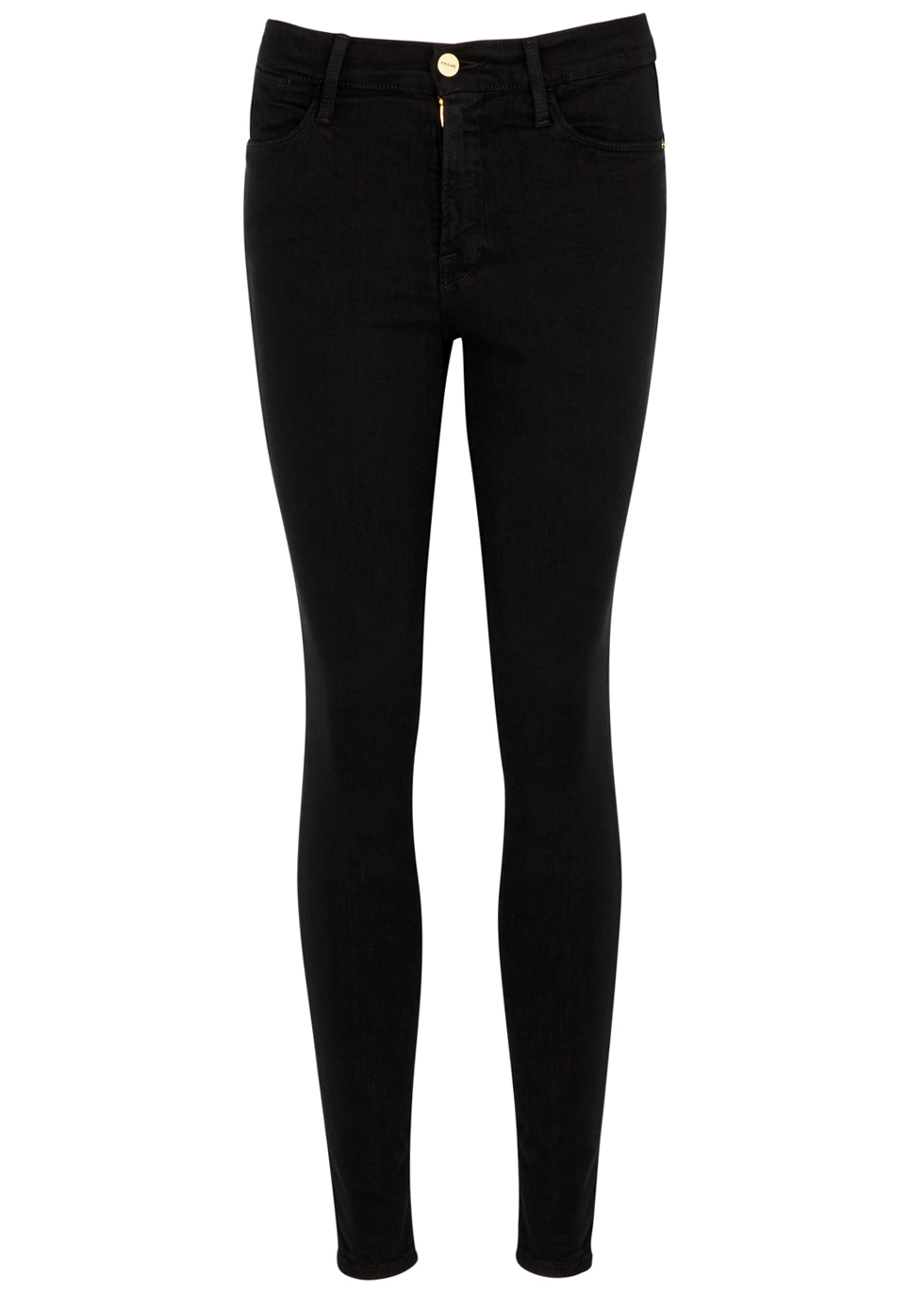 Le High Skinny black jeans