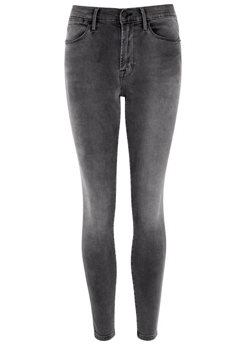 FRAME DENIM Le High Skinny grey jeans - Harvey Nichols