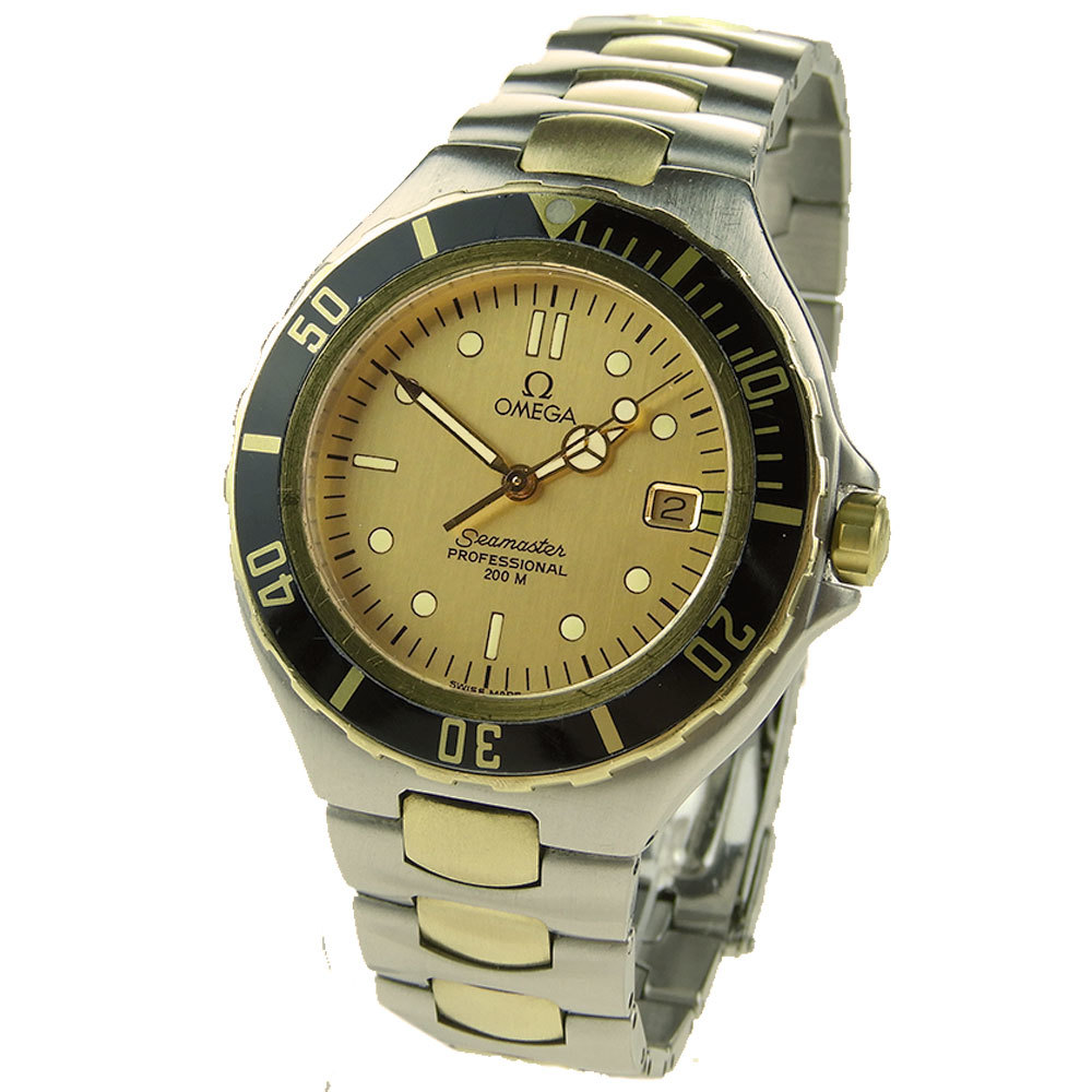 OMEGA Seamaster Professional 200M Steel And Gold Quartz