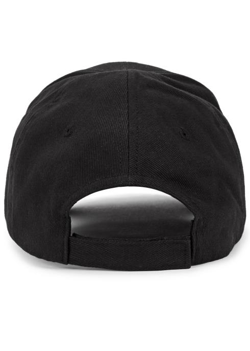 212b26bb Balenciaga Logo-embroidered cotton twill cap - Harvey Nichols
