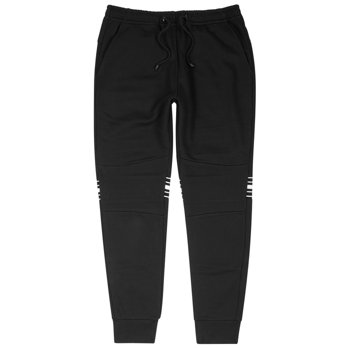 Fendi Black Striped Jersey Jogging Trousers