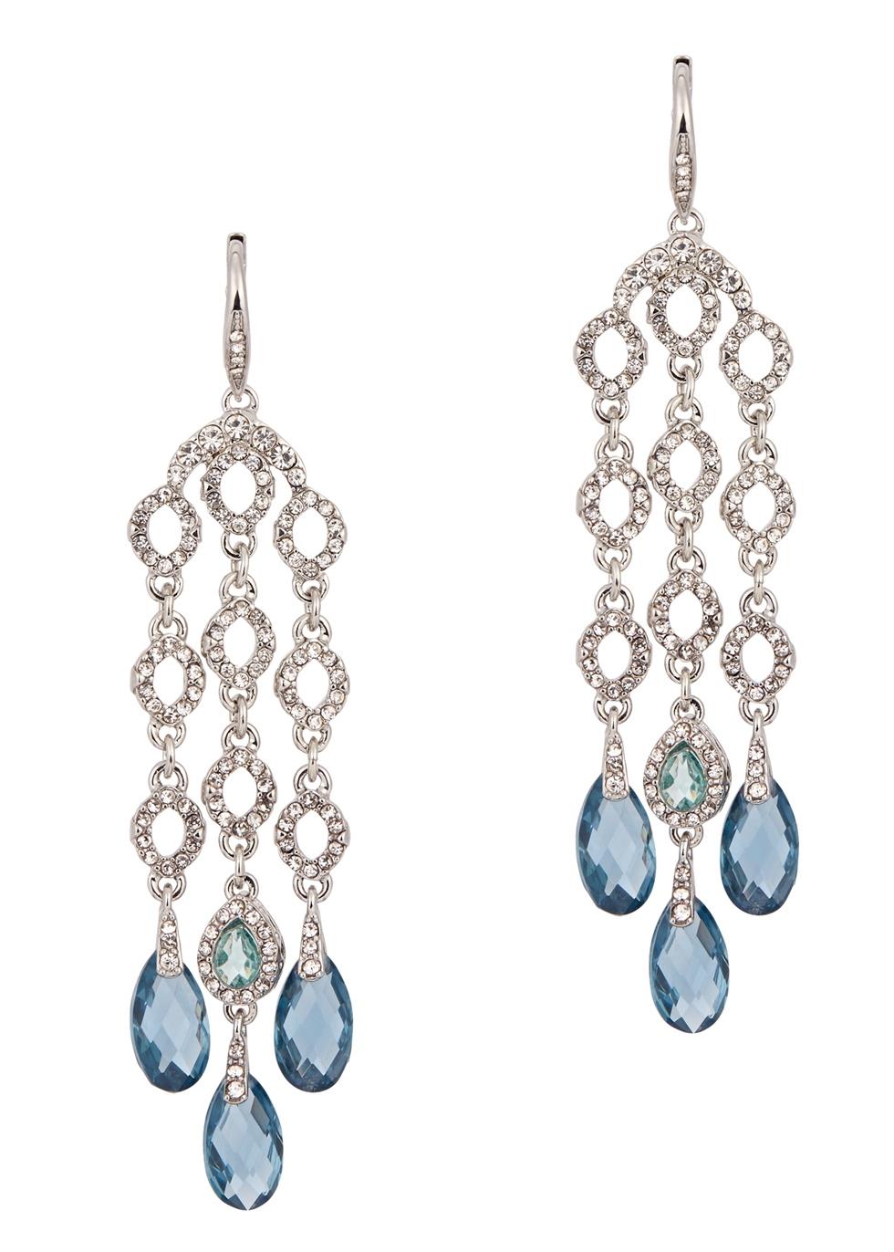 JENNY PACKHAM BLUE SKIES CHANDELIER EARRINGS